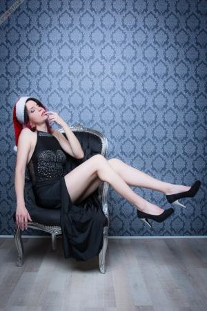 Weihnachtsfrau Tine